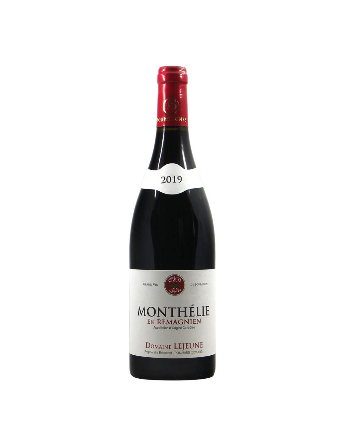 Domaine Lejeune Monthelie En Remagnien 2019 Grandi Bottiglie