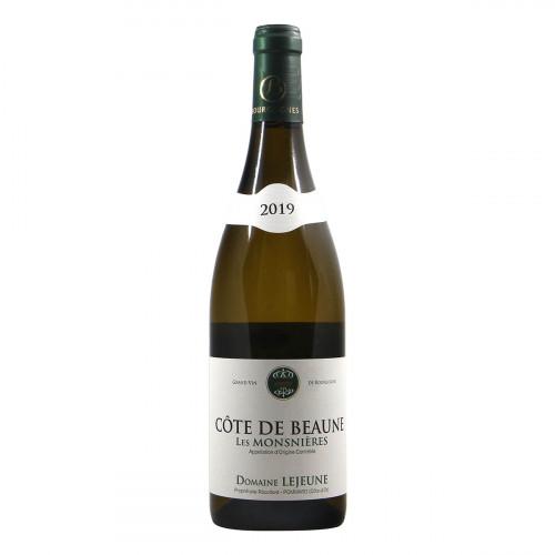 Domaine Lejeune Cote de Beaune Les Monsnieres 2019 Grandi Bottiglie
