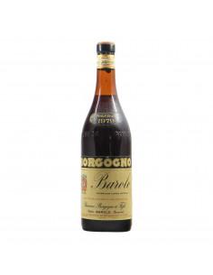 Borgogno Barolo Riserva Clear Color 1979 Grandi Bottiglie