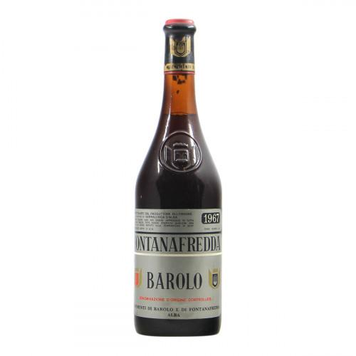 Fontanafredda Barolo 1967 Grandi Bottiglie