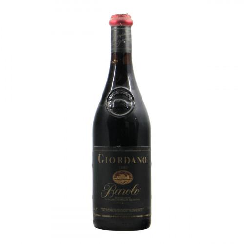 Giordano Barolo 1980 Grandi bottiglie