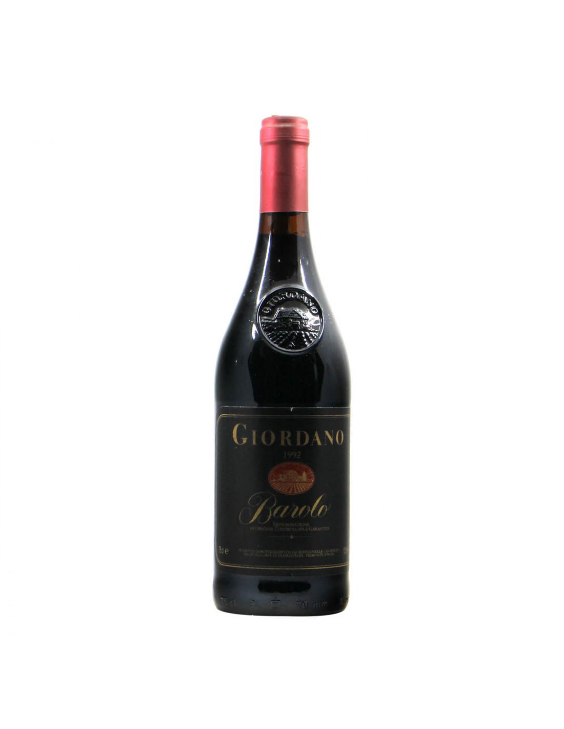 Giordano Barolo 1992 Grandi bottiglie
