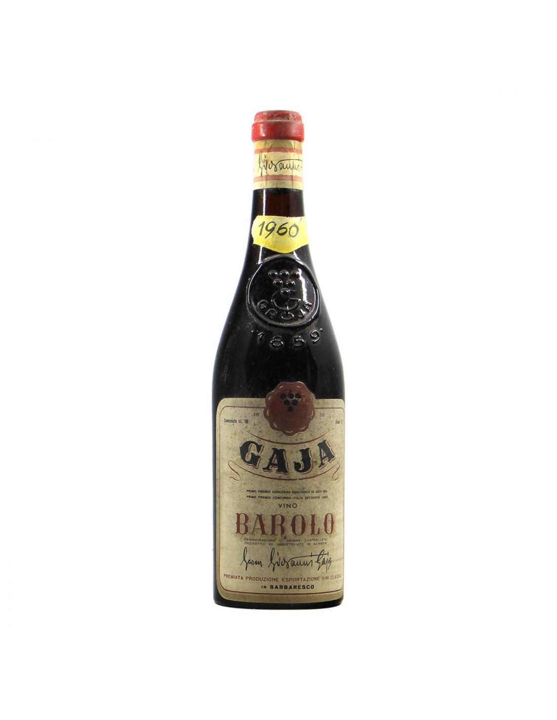Gaja Barolo 1960 Grandi bottiglie