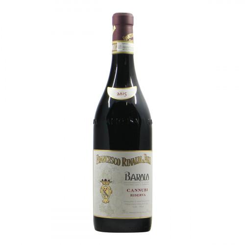Francesco Rinaldi Barolo Cannubi Riserva 2015 Grandi Bottiglie