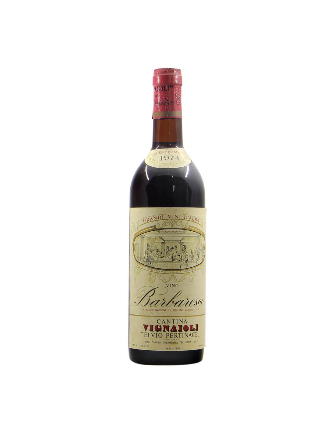 Cantina Vignaioli Elvio Pertinace Barbaresco 1974 Grandi Bottiglie