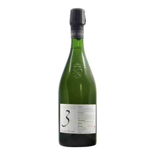 Vincent Brochet Champagne Millesime Extra Brut 2008 Gandi Bottiglie