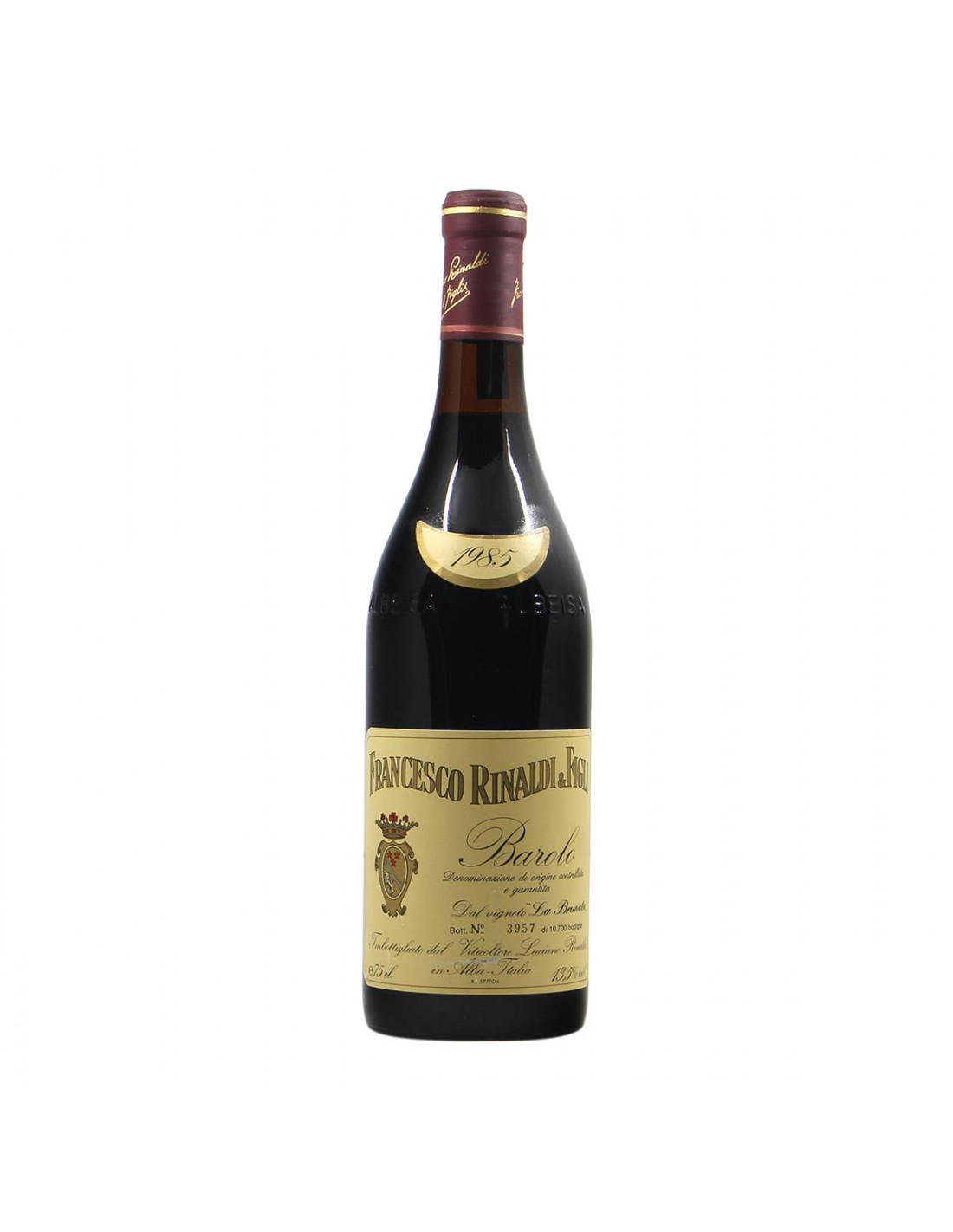 Francesco Rinaldi Barolo Brunate 1985 Grandi Bottiglie