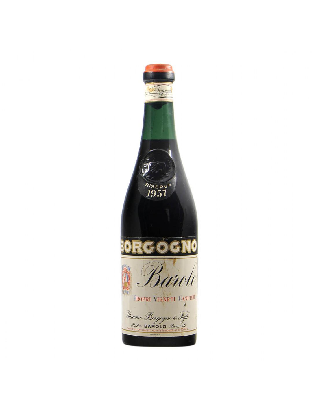 Borgogno Barolo Riserva 1957 Grandi Bottiglie