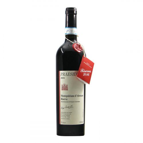Praesidium Montepulciano d Abruzzo Riserva 2016 Grandi Bottiglie