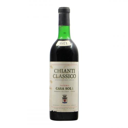 Fattoria Casa Sola Chianti Classico 1971 Grandi Bottiglie