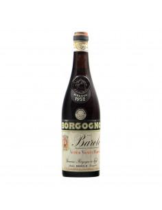Borgogno Barolo Riserva 1952 Clear Color Grandi Bottiglie