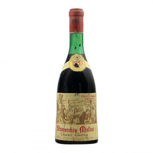 Melini Chianti Classico Stravecchio 1953 Grandi Bottiglie