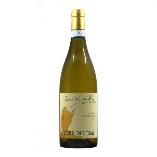 """Torre dei Beati Trebbiano d'Abruzzo """"bianchi grilli per la testa"""" 2019 Grandi Bottiglie"""