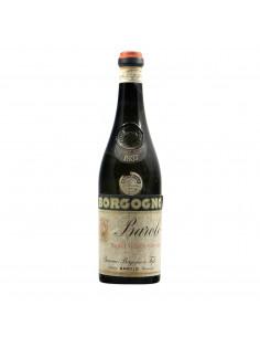 Borgogno Barolo Riserva 1937 Clear Color Grandi Bottiglie