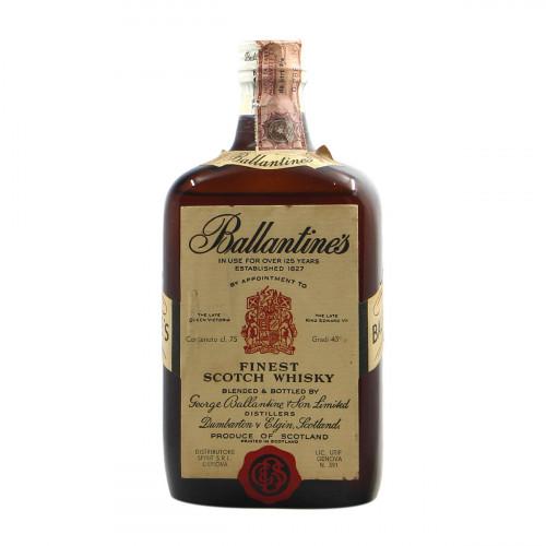 BALLANTINES FINEST SCOTCH WHISKY 75CL...