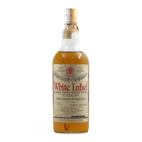 White Label Dewar Finest Scotch...