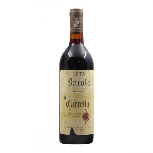 Tenuta Carretta Barolo Cannubi 1978 Grandi Bottiglie