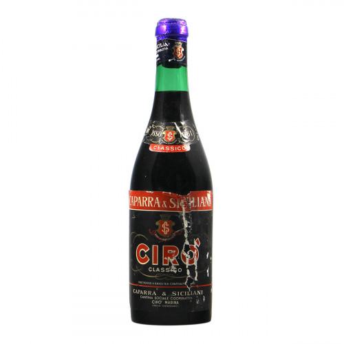 Caparra e Siciliani Ciro Classico 1961 Grandi Bottiglie