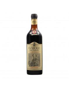 Barone Ricasoli Chianti Classico Gaiole 1970 Grandi Bottiglie