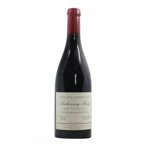 """Coteaux Champenois AOC """"Cuvée des Grands Côtes"""" Ambonnay Rouge 2016 Egly-Ouriet"""
