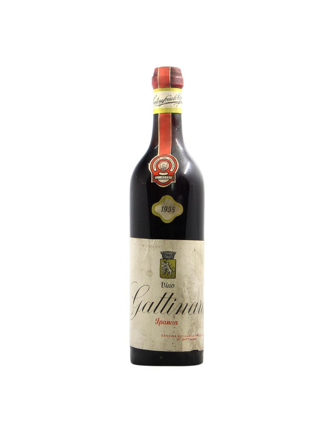 Cantina Sociale Cooperativa di Gattinara Gattinara 1958 Grandi Bottiglie