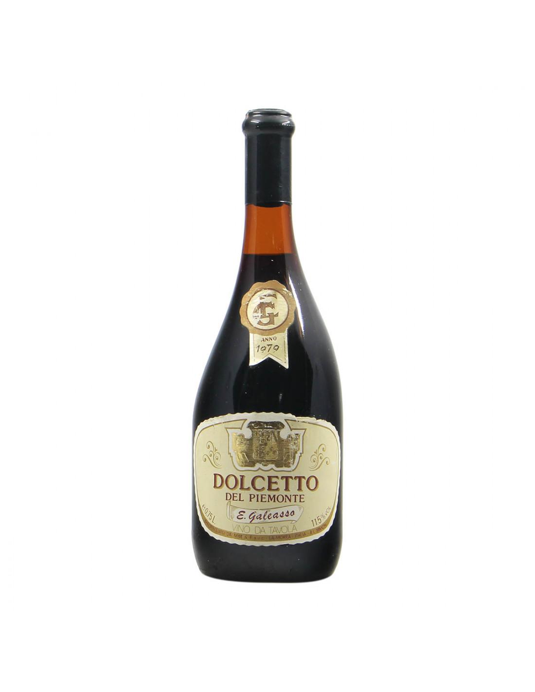 Galeasso Dolcetto del Piemonte 1979 Grandi Bottiglie