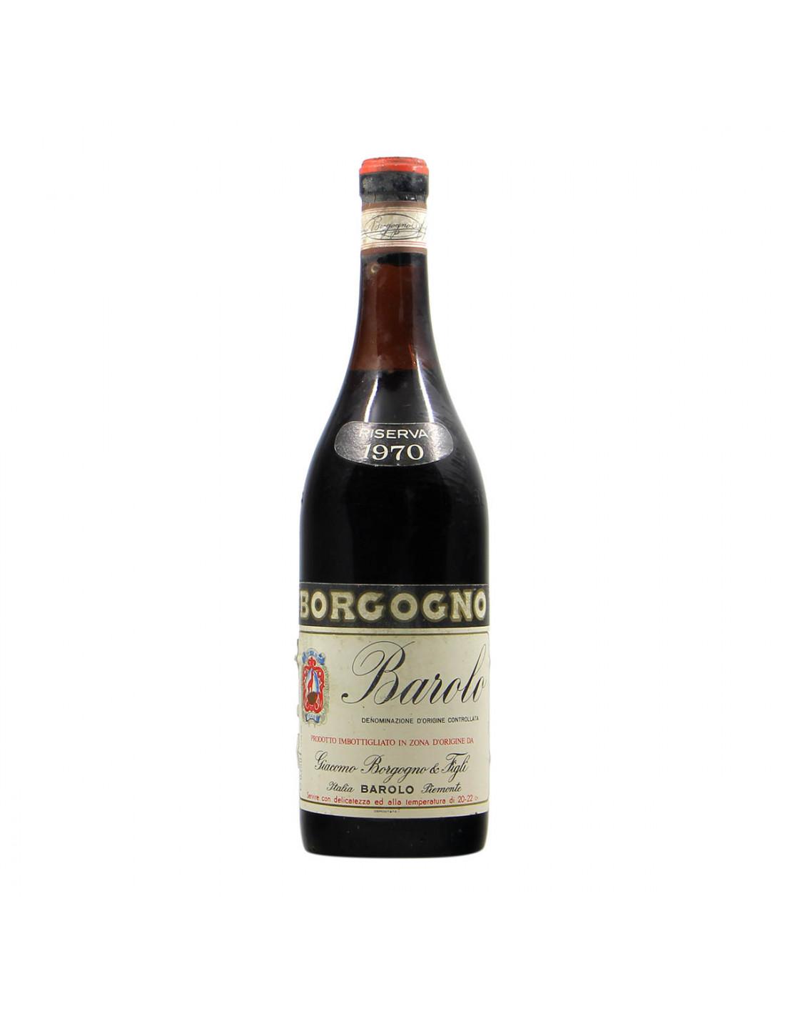 Borgogno Barolo Riserva 1970 Grandi Bottiglie
