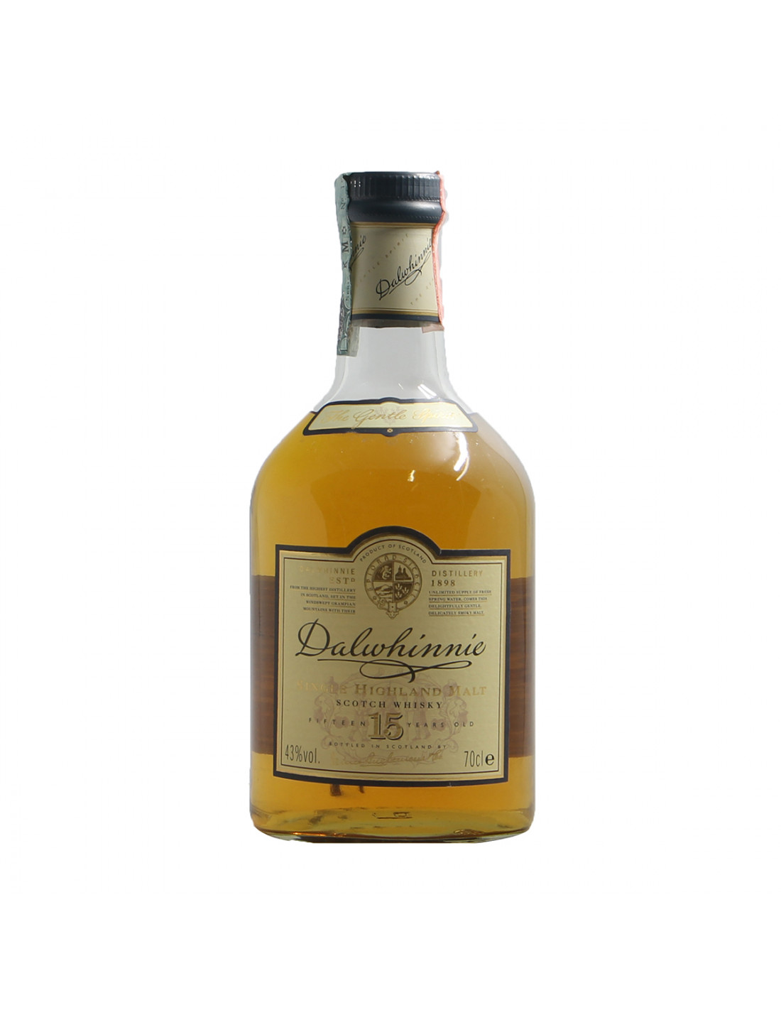 Dalwhinnie Single Highland Malt Scotch Whisky 15 years Grandi Bottiglie B
