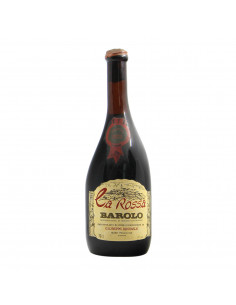 giuseppe Ravinale Barolo Ca Rossa 1973 Grandi Bottiglie