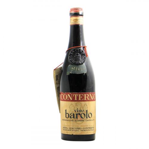 Conterno Barolo 1964 Grandi Bottiglie