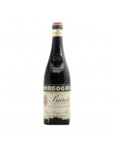Borgogno Giacomo Barolo 1965 Grandi Bottiglie