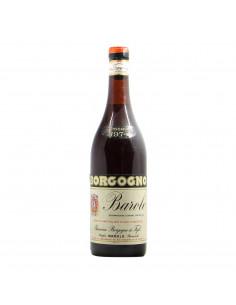 Borgogno Giacomo Barolo Clear Color 1974 Grandi Bottiglie