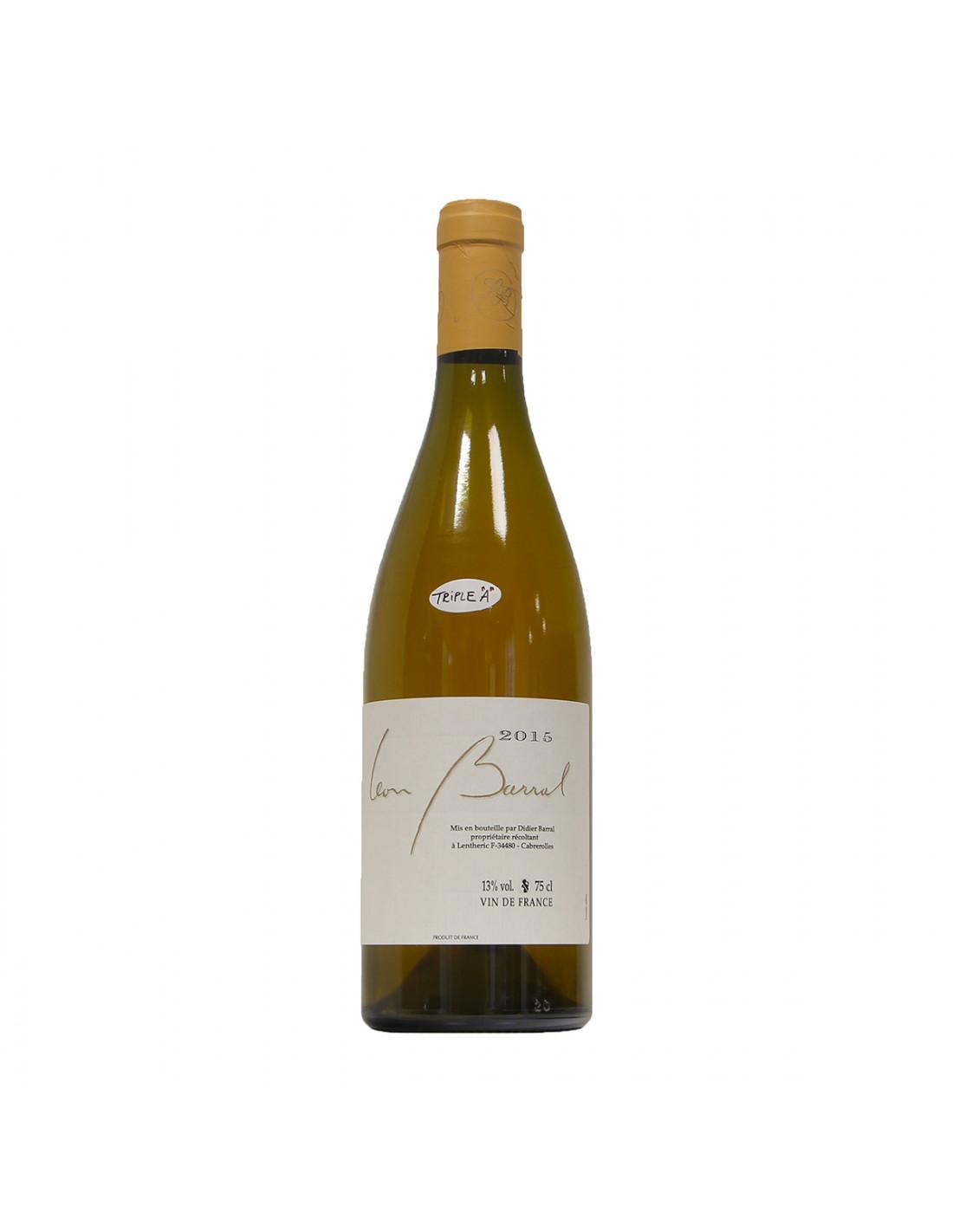 Blanc 2015 Leon Barral Grandi Bottiglie