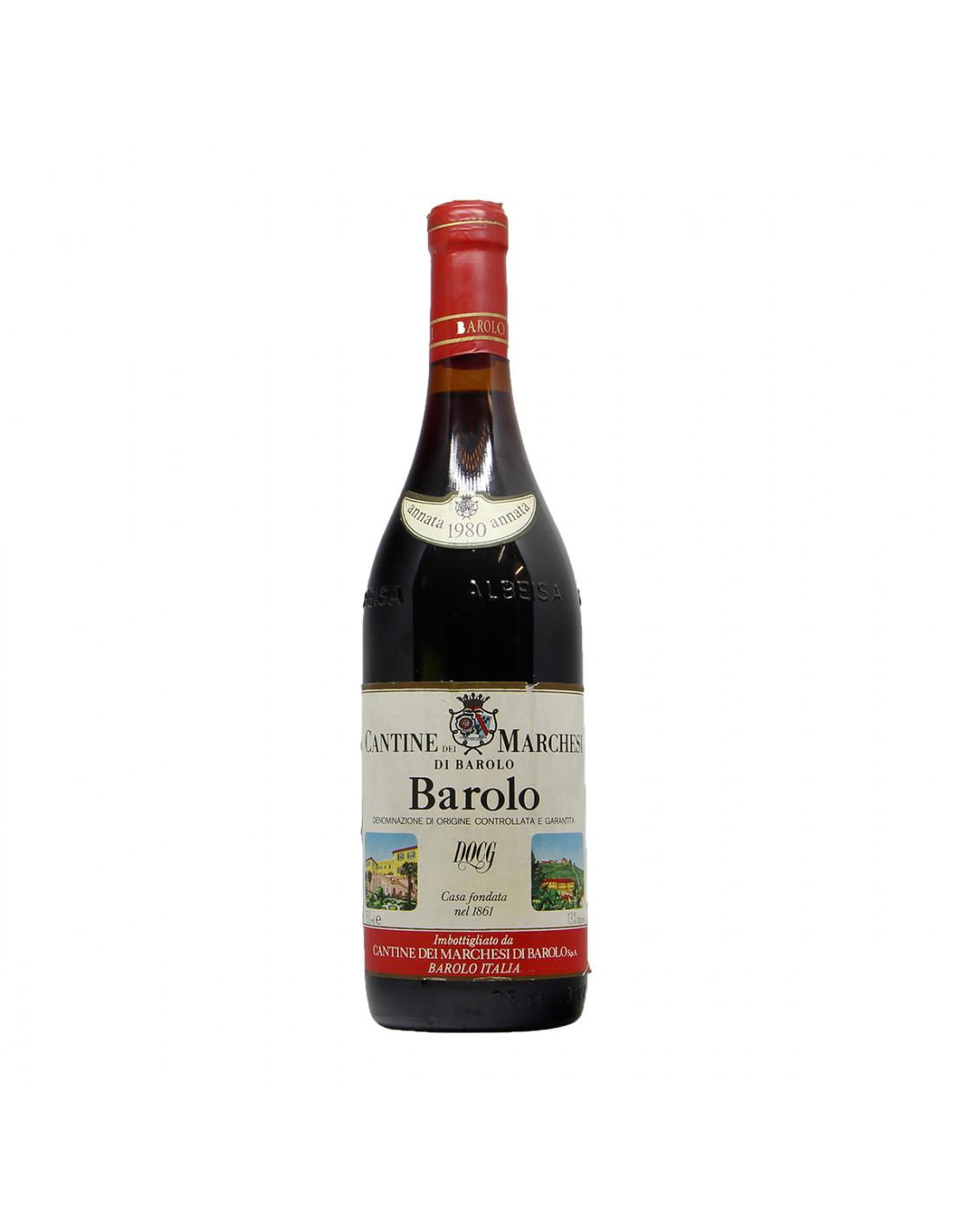 Marchesi di Barolo Barolo 1980 Grandi Bottiglie