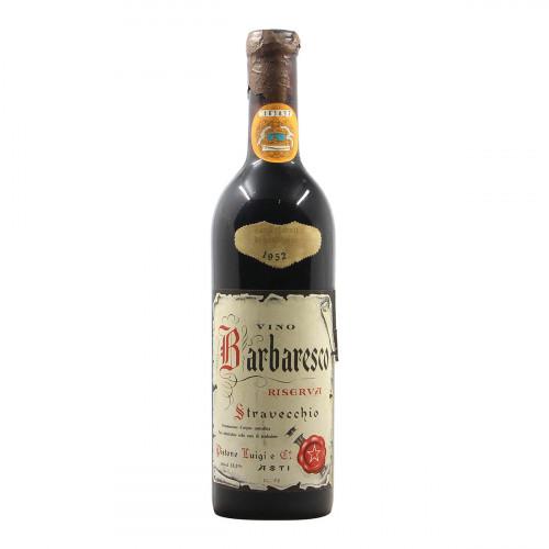 Pistone Barbaresco Stravecchio Riserva 1952