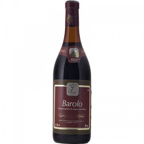 BAROLO 1974 CANTINA DEL DOLCETTO DI DOGLIANI Grandi Bottiglie