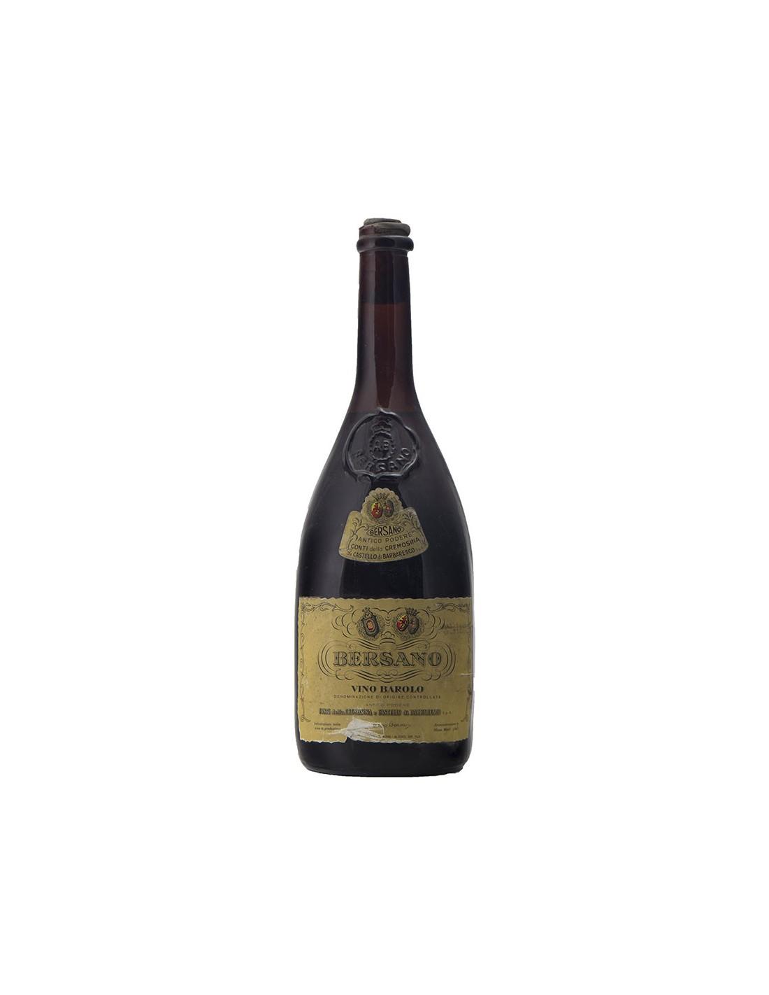 BAROLO CONTI CREMOSINA 1964 BERSANO Grandi Bottiglie
