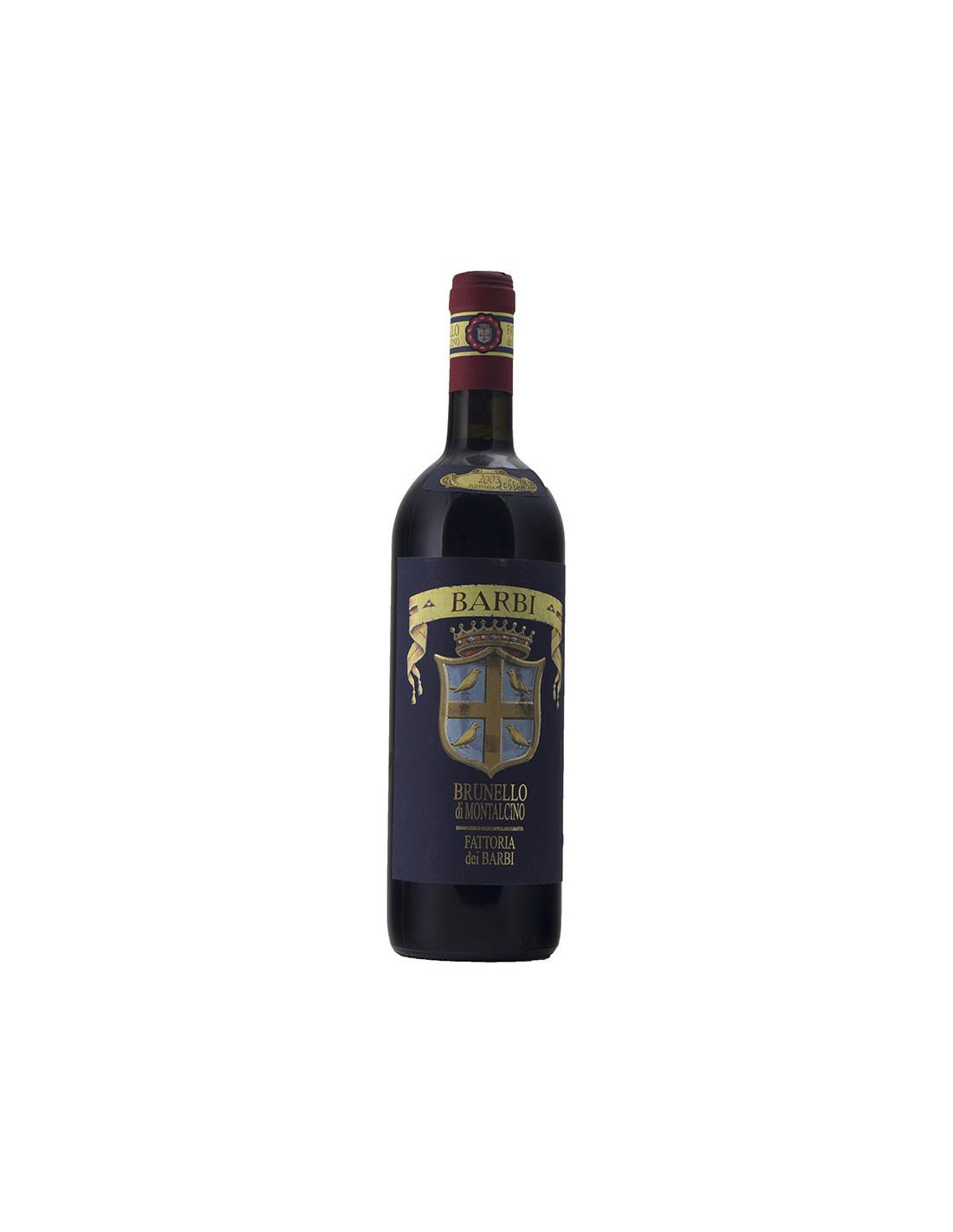 Fattoria dei Barbi Brunello di Montalcino 2003 Grandi Bottiglie