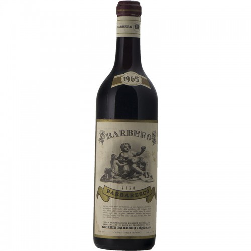 BARBARESCO 1965 BARBERO Grandi Bottiglie