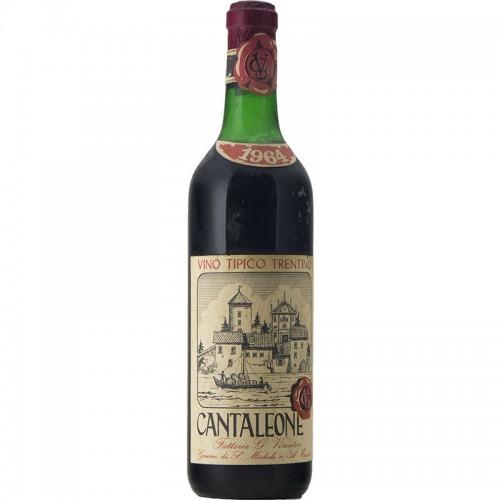 VINO TIPICO TRENTINO CANTALEONE 1964 VISENTIN Grandi Bottiglie