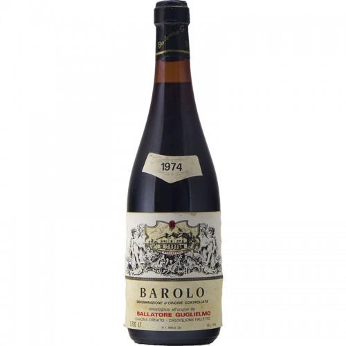 BAROLO 1974 BALLATORE GUGLIELMO Grandi Bottiglie