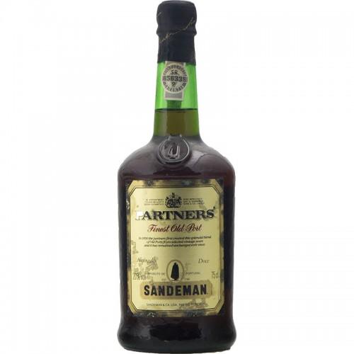 PARTNERS FINEST OLD PORT NV SANDEMAN Grandi Bottiglie