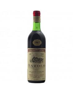 Barolo 1967 VIBERTI LUIGI GRANDI BOTTIGLIE