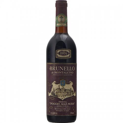 Brunello Di Montalcino Riserva 1974 POGGIO ALLE MURA GRANDI