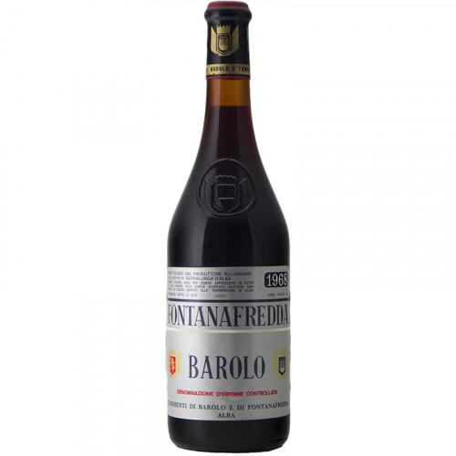 BAROLO 1968 CLEAR COLOR FONTANAFREDDA