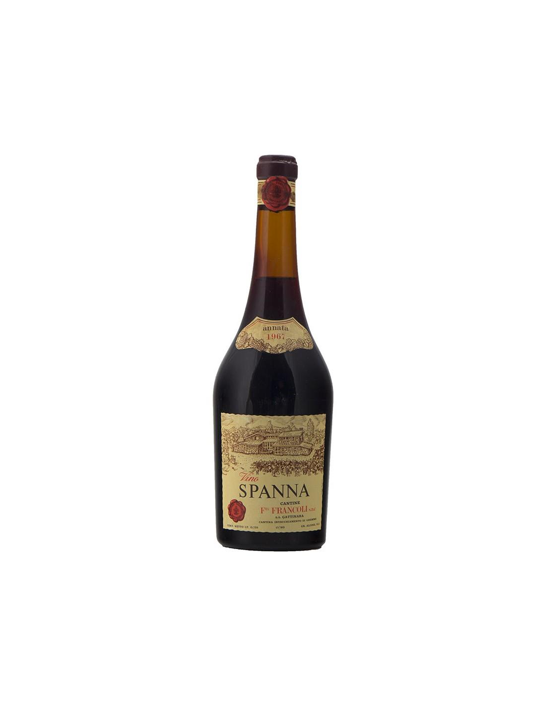 SPANNA 1967 FRANCOLI Grandi Bottiglie