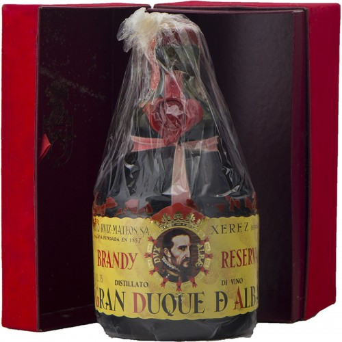 GRAN DUQUE D'ALBA BRANDY DE JEREZ SOLERA GRAN RESERVA 75CL 40VOL NV GRAN DUQUE ALBA Grandi Bottiglie