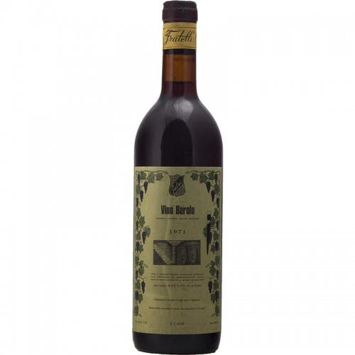 BAROLO 1971 GABRI Grandi Bottiglie