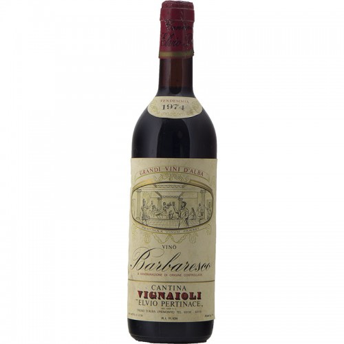 BARBARESCO 1974 CANTINA VIGNAIOLI ELVIO PERTINACE Grandi Bottiglie