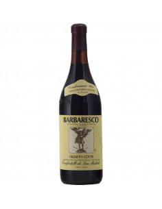 Barbaresco Vigneto Cotta' 1981 CONFRATELLI DI SAN MICHELE